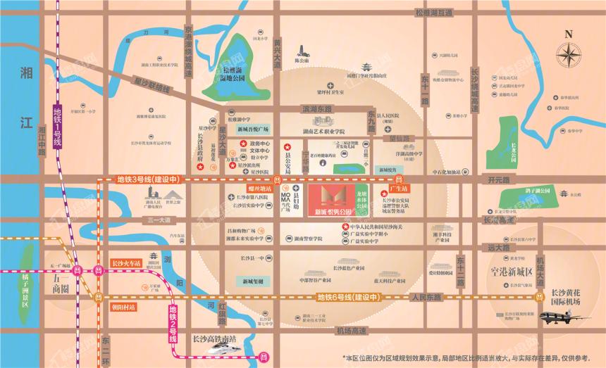 新城悦隽公园位置图