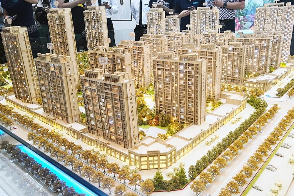 中海锦城实景图