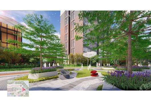新福港·鼎荟项目小区环境
