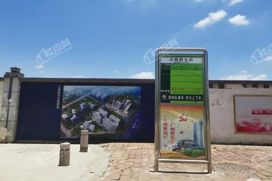 新福港·鼎荟距离项目50米内的公交站