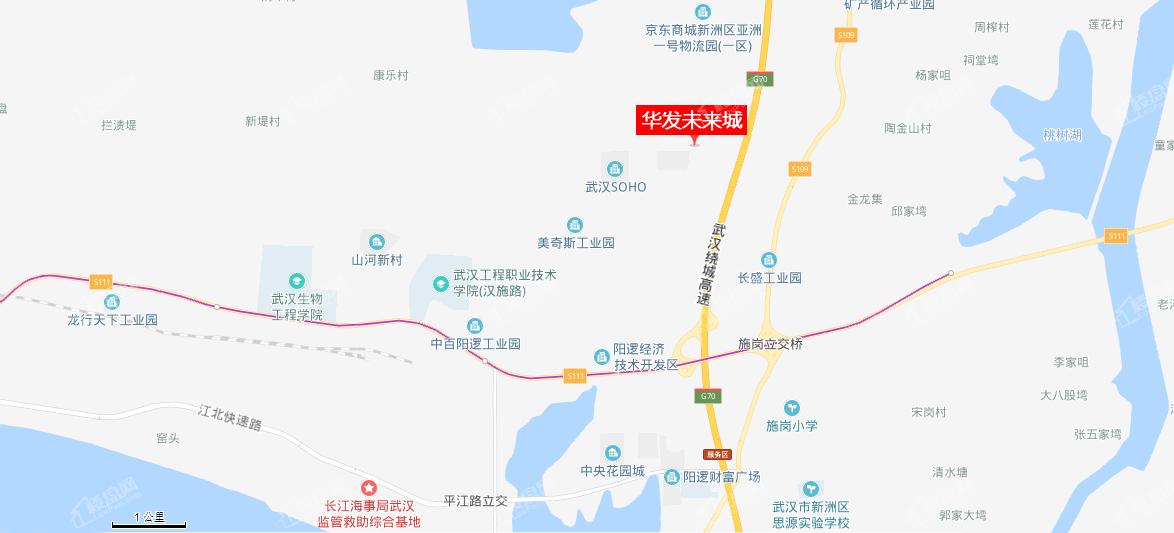 华发未来城位置图