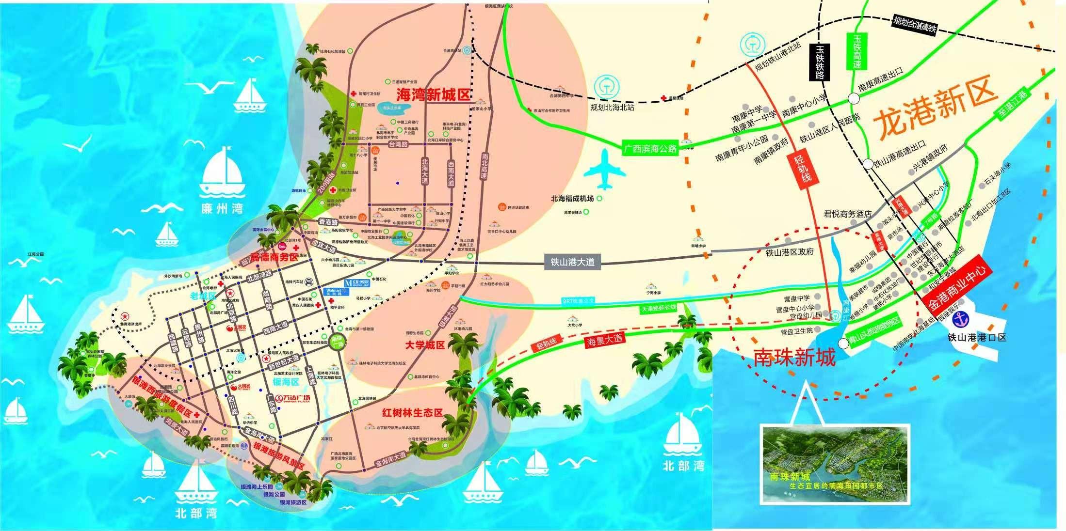 金港商业中心位置图