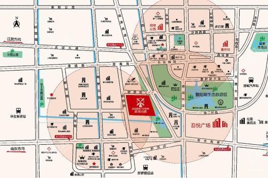 碧桂园·莱顿小镇交通图