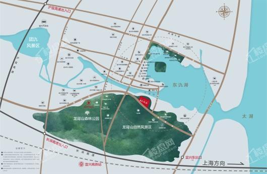 碧桂园凤鸣府交通图