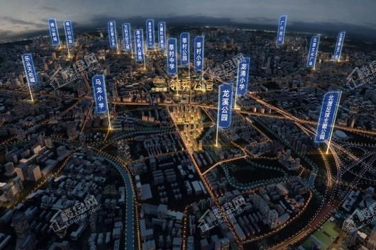 中国铁建领秀公馆项目周边配套