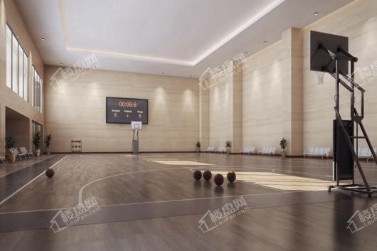 中国铁建领秀公馆小区篮球场