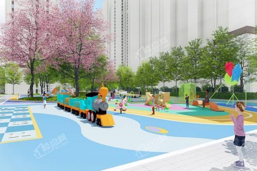 中国铁建领秀公馆小区儿童游乐