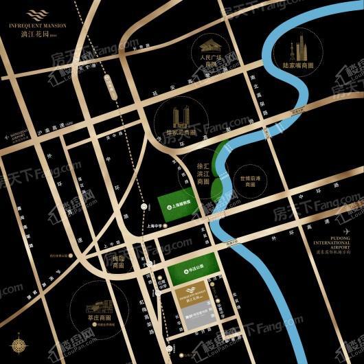 漓江花园三期A区交通图