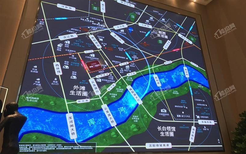龙湖九里颐和实景图