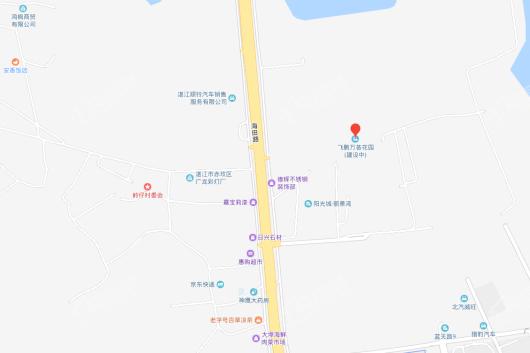 飞鹏万荟世界·铂悦交通图