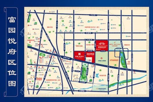 富园悦府交通图