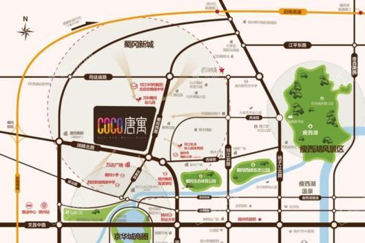 COCO唐寓交通图