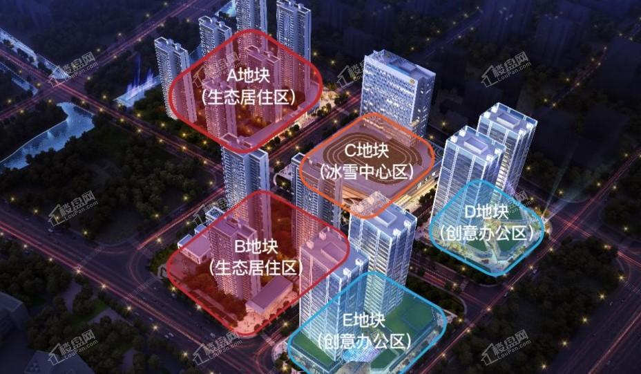 奥山汉口澎湃城效果图