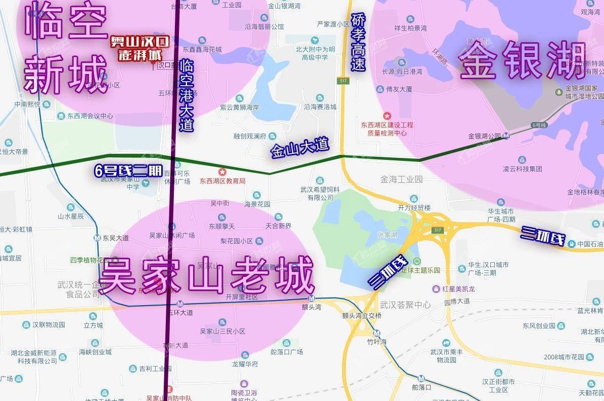 奥山汉口澎湃城位置图