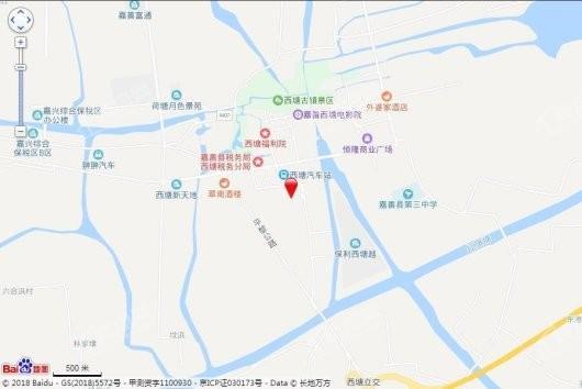 龙光西塘江南大境交通图