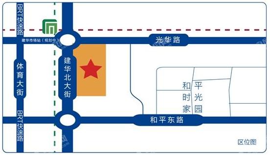 东胜珑悦园位置图