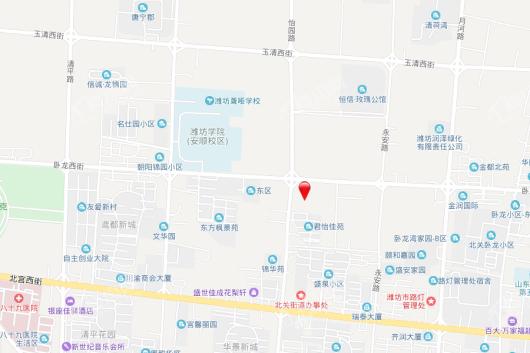 龙润紫宸华府交通图