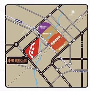 华润·置地公馆位置图