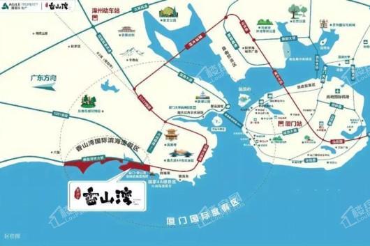 雅居乐香山湾交通图