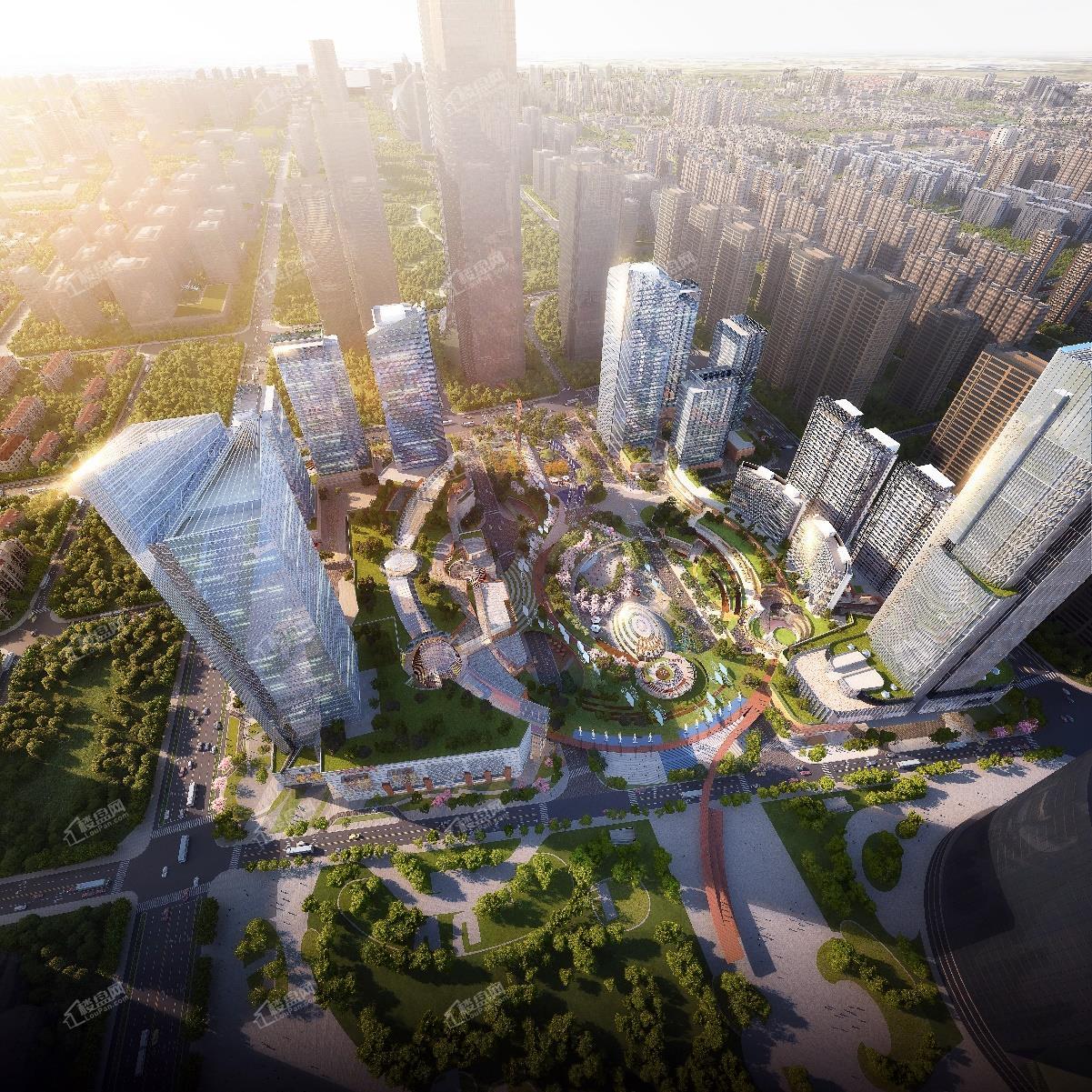 济南远大购物广场效果图