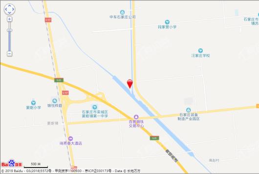 石家庄·融创城交通图