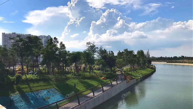 中信国安北海第一城生态运河