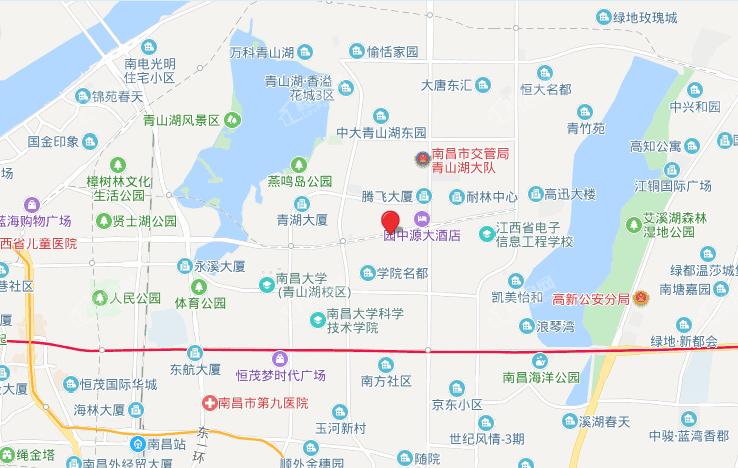 聚仁国际总部位置图