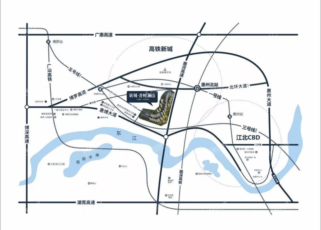 新城香悦澜山位置图