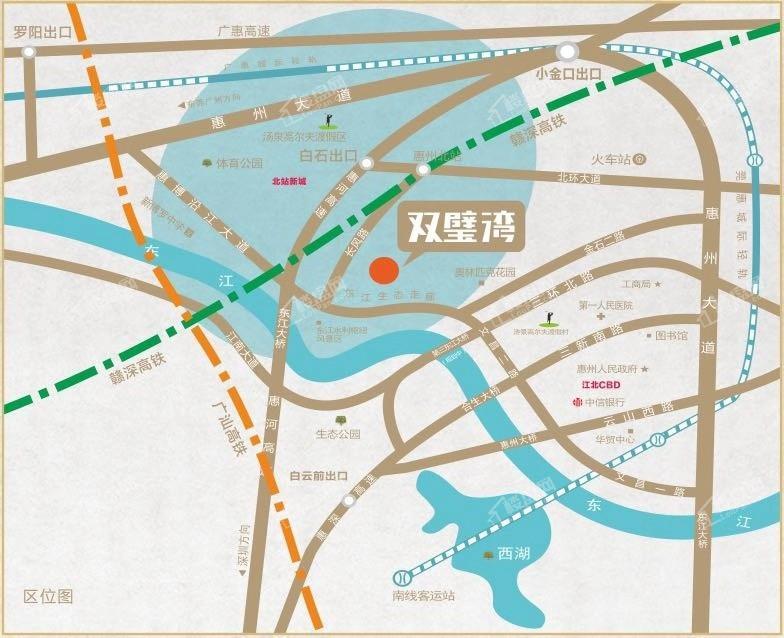 润田双璧湾位置图