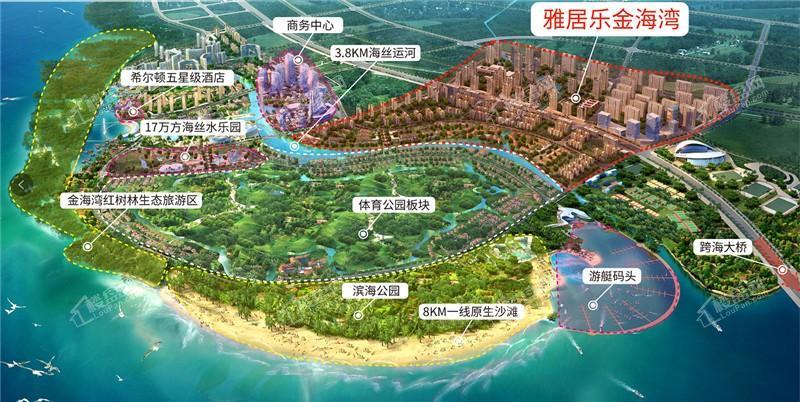 中央生态城规划图