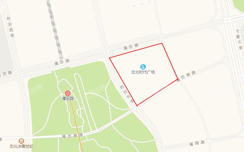沈北时代广场位置图