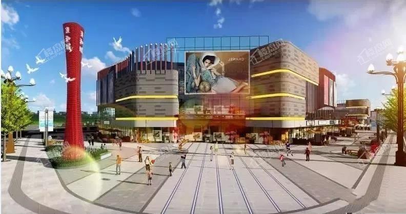漫和城商业中心效果图