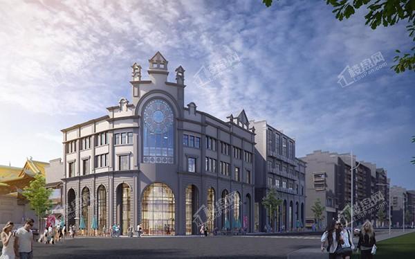 万寿宫历史文化街区效果图