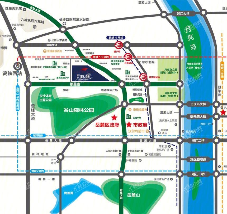 顺舟旺城位置图