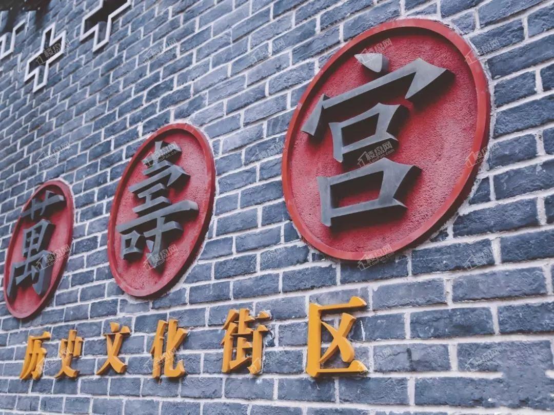 万寿宫历史文化街区实景图