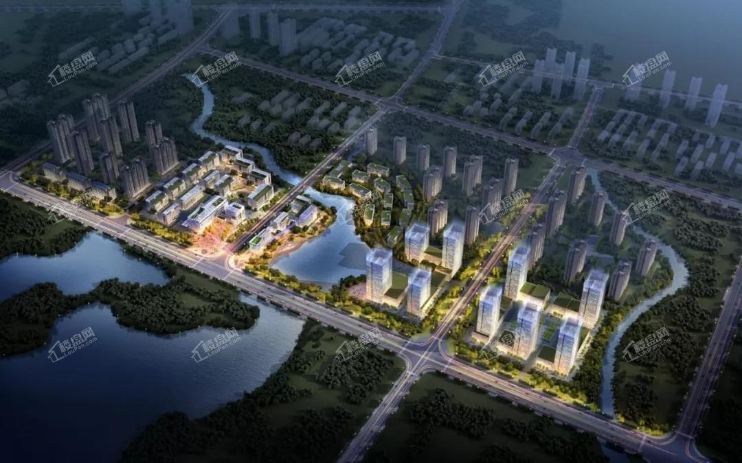 启迪(柳州)科技城效果图