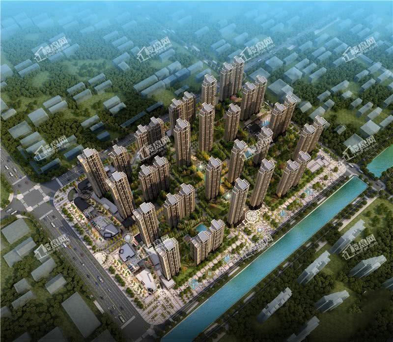 福星惠誉东湖城效果图