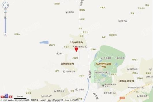 祥生云湖城交通圖