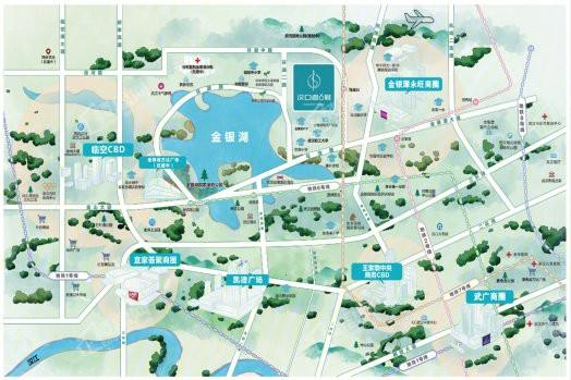 汉口道6号位置图