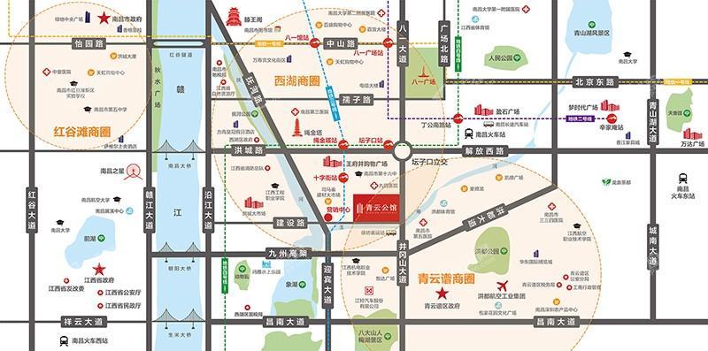 青云公馆位置图
