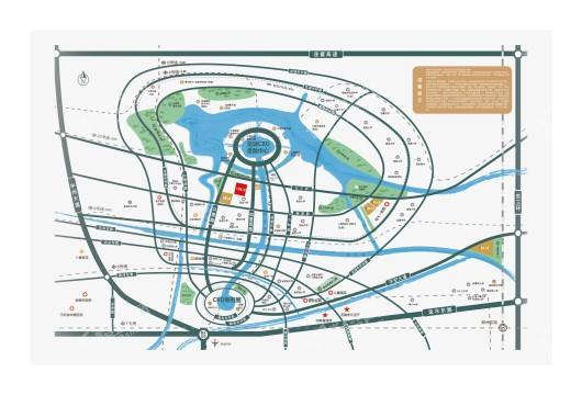 正商祯瑞上境交通图