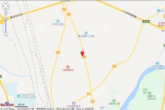中铁诺德·阅泷交通图