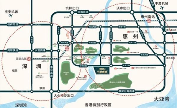 七里香堤位置图