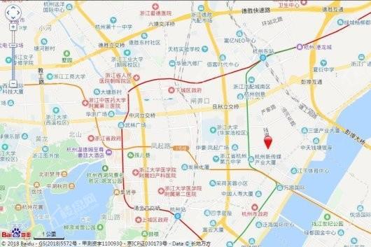 凤起钱潮交通图