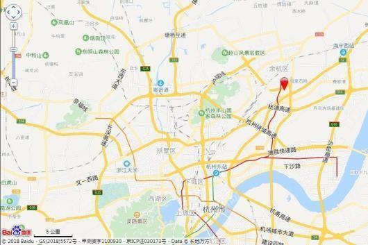 侨福明园交通图