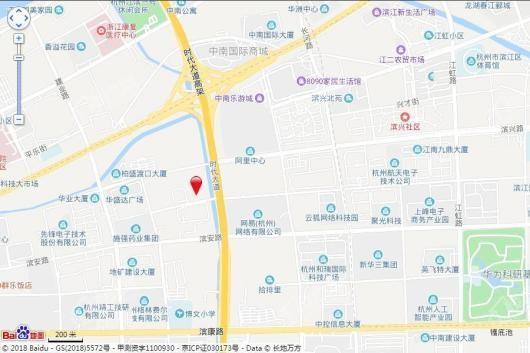 杭州房天下大厦交通图
