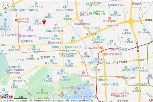 九龙仓&华发天荟交通图
