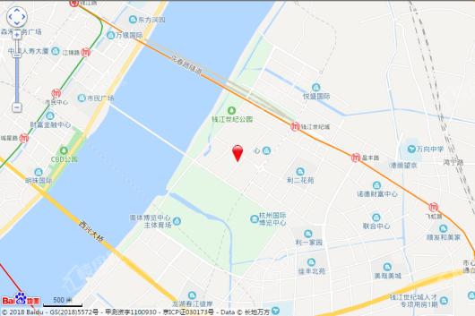 IOC嘉润公馆交通图