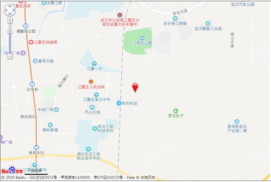 经发 龙湖·雲峰原著交通图