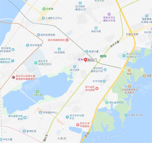 博译名门交通图